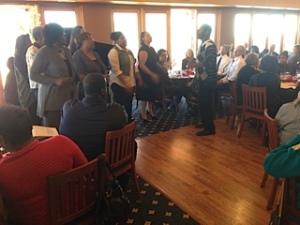 Emmanuel Baptist Church Choir at the MLK event