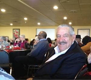 Senator Fred Harris at the MLK event