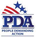 people demanding action