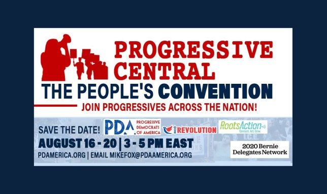 The People's Convention @ Online at www.pdamerica.org